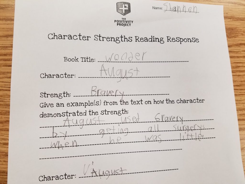 The Wild Robot's Character Strengths - The Positivity Project